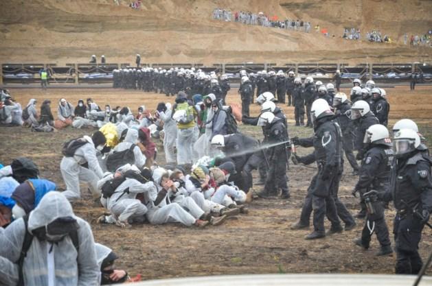 Politie gebruikte pepperspray tegen mijnbezetters Hambach