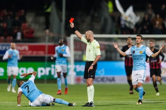 Roda JC mist Rosheuvel één wedstrijd na rode kaart