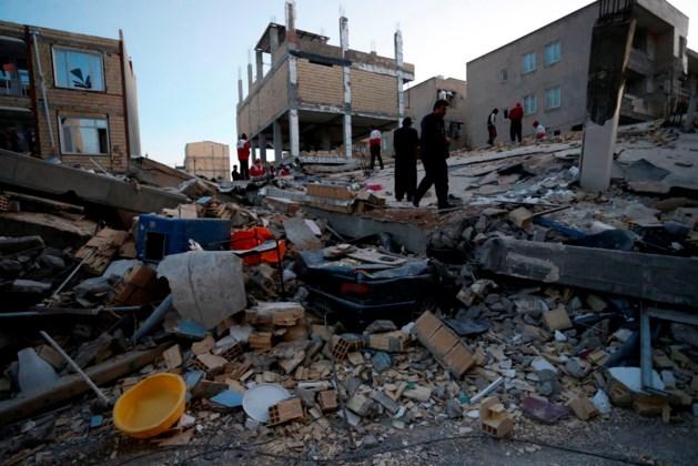 Dodental aardbeving Iran stijgt tot boven 300