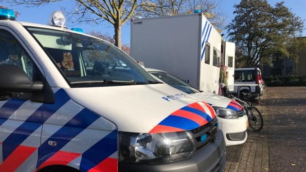 Mobiele politiepost in Blerick na schietincidenten