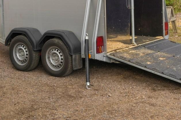 Dief gaat ervandoor met trailer en minipaardje