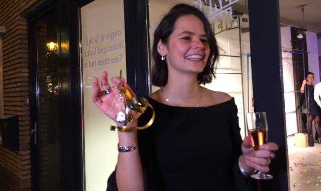 Tassenverkoopster wint gratis winkel in hartje Panningen