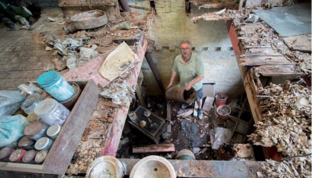 Man vindt 186 jaar oude schedel in schuur
