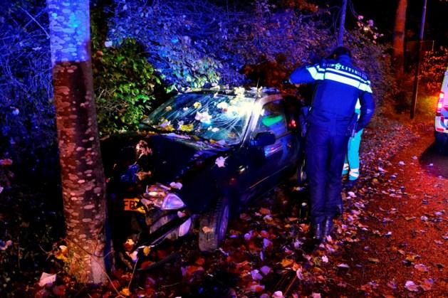 Politie neemt automobilist in de boeien mee na ongeluk