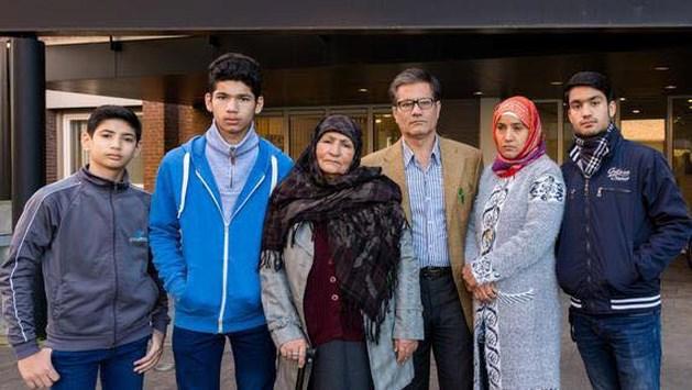 Actie in Maastricht tegen uitzetting van Afghaans gezin