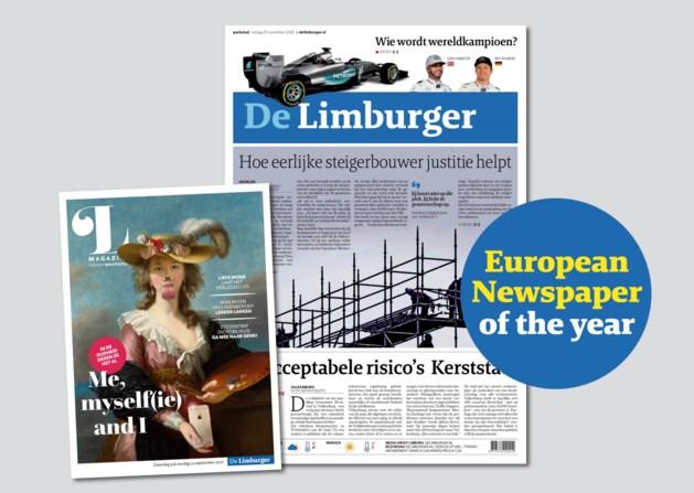 De Limburger uitgeroepen tot Europese krant van het jaar