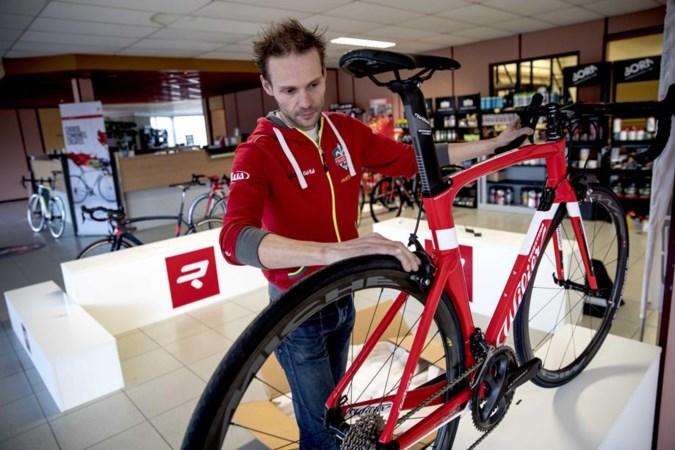 Dieven azen op dure fiets, winkels worden fort