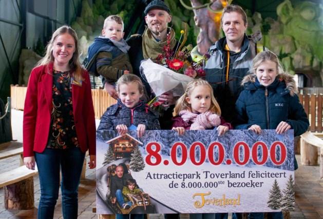 Toverland verwelkomt 8 miljoenste bezoeker
