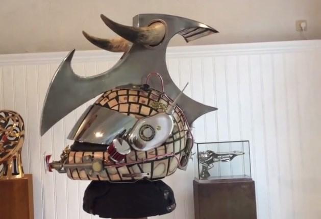 Limburgse kunstenaar ontwerpt speciale helm voor Max Verstappen