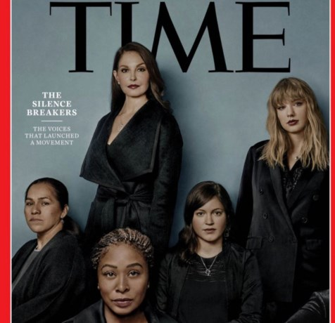 Vrouwen achter #Metoo zijn 'Times Person of the Year'