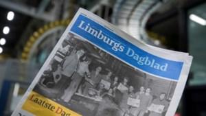 FOTO'S - Na 99 jaar valt het doek voor het Limburgs Dagblad