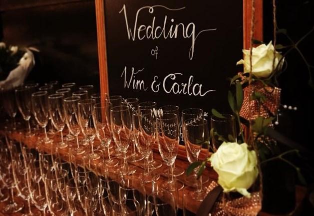 Laatste huwelijk van 2017 voltrokken in Limburgs café
