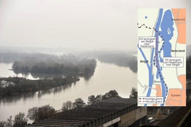 Limburg tijdens jaarwisseling stukje groter geworden