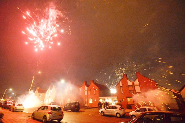 Limburg gaat knallend het nieuwe jaar in