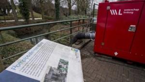 Pomp aangezet bij Elsloo tegen hoogwater Maas