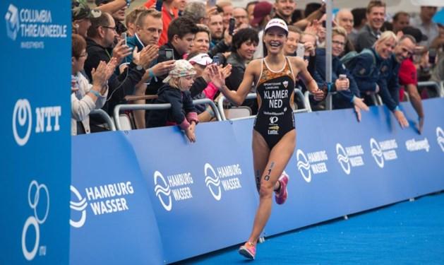 Triatlete Klamer zakt naar derde plaats