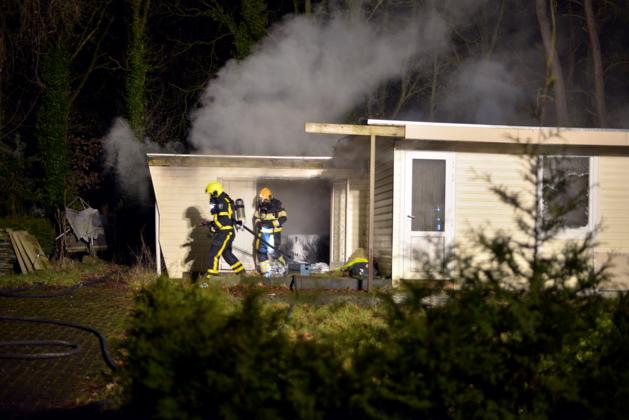 Brand op vakantiepark Elfenmeer blijkt aangestoken