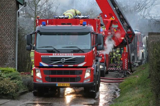 Brandweer naar verkeerde adres bij grote boerderijbrand