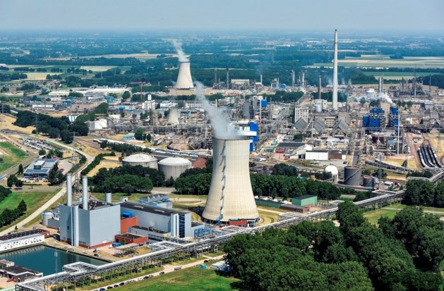 Witte auto's na storing op Chemelot