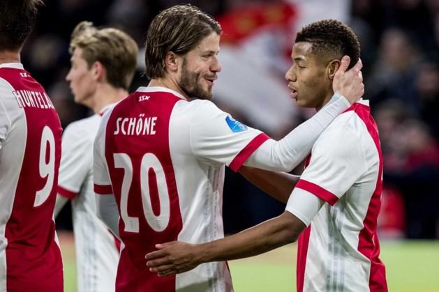 Matig Ajax in eigen huis moeizaam langs NAC Breda