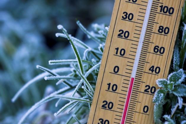 Koude week van start met temperaturen onder nul