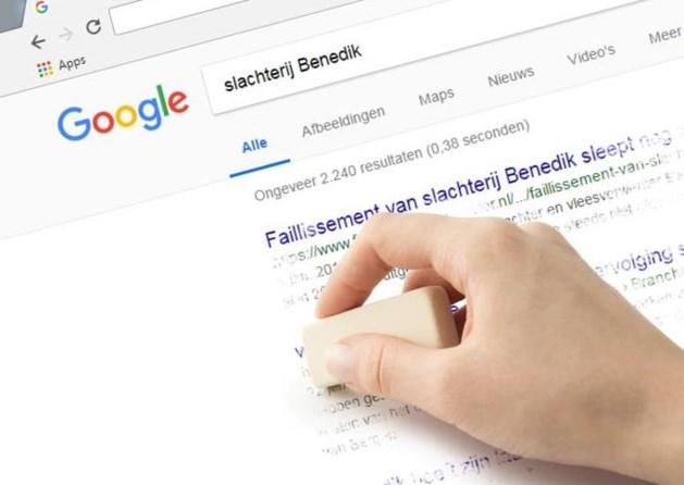 Ex-directeur slachthuis eist dat Google zoekresultaten weghaalt