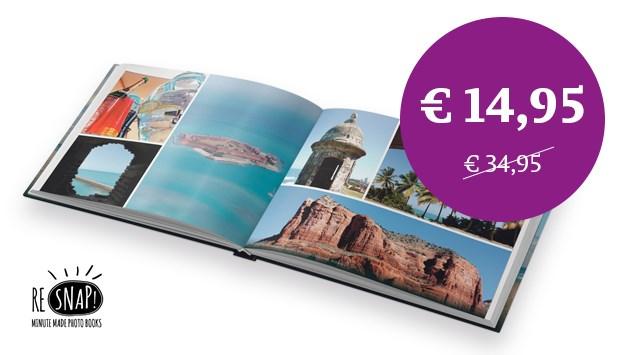 Maak je fotoboek met 20 euro korting van De Limburger