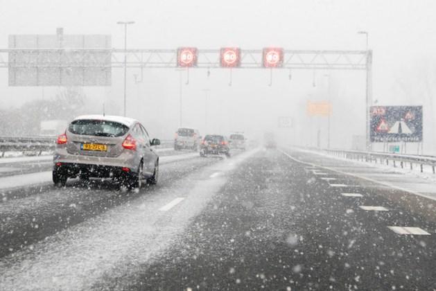 Code geel voor Limburg vanwege sneeuw en gladheid