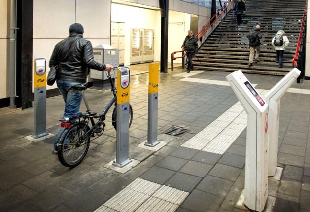 Fietsenstallingen op treinstations voorzien van nieuwe ingang