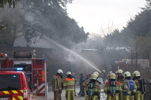 Forse brand bij Commanderie in Pietersvoeren