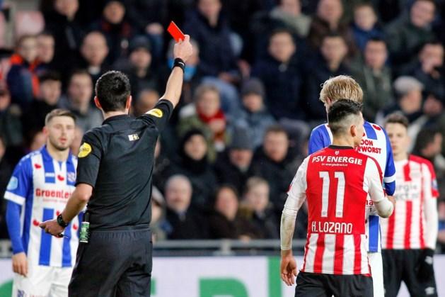 PSV mist geschorste Lozano tegen Feyenoord