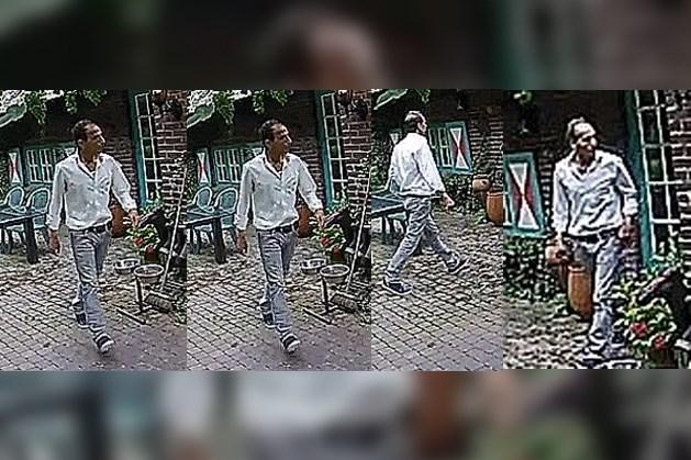 Politie zoekt inbreker met behulp van camerabeelden