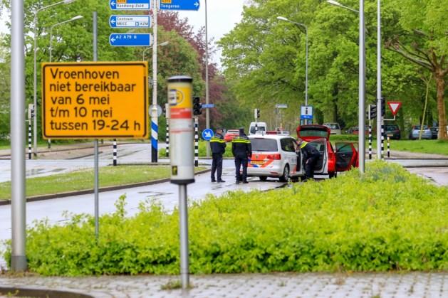 Reconstructie schietincident politieagent in Maastricht