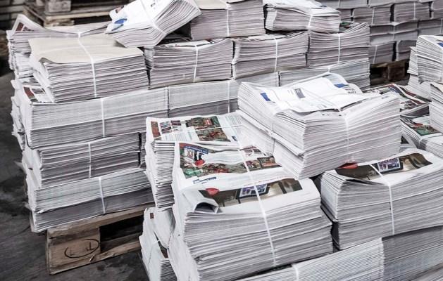 Crisisteam paraat voor bezorging kranten Maastricht-West
