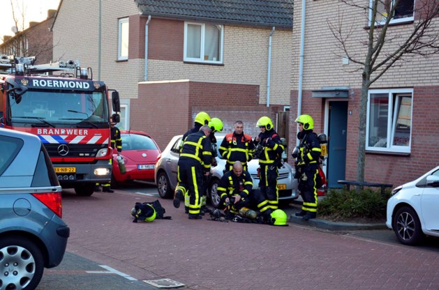 Brandweer opgetrommeld voor woningbrand in Roermond