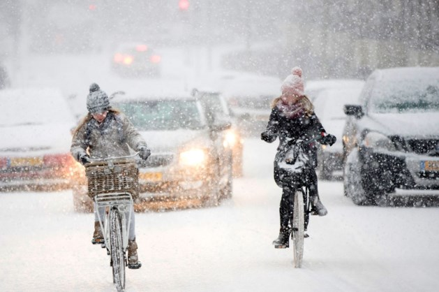 Onverwacht sneeuwdek in Limburg 'was niet industrieel'