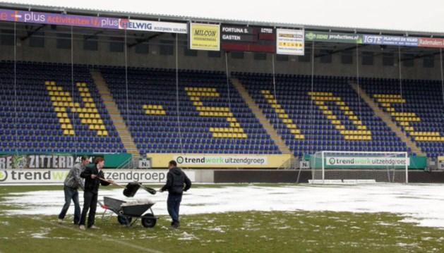 Fortuna zoekt ruimers voor sneeuwvrije derby