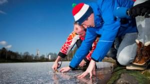 Eerste marathon op natuurijs in Haaksbergen