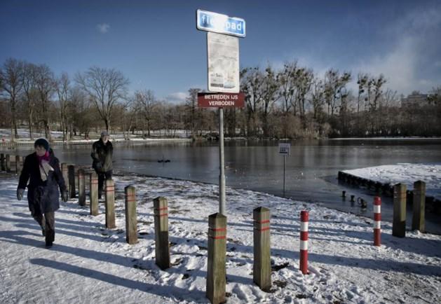 Schaatsen te gevaarlijk op vijvers in Parkstad