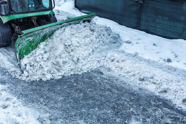 Roda laat sneeuwschuivers aanrukken