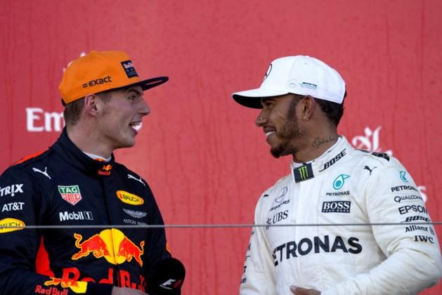 Hamilton: 'Verstappen verder dan ik op zijn leeftijd'
