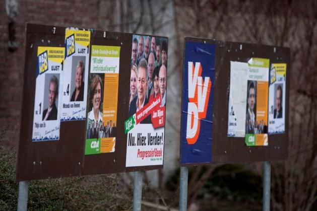 Verkiezingsposters vernield in Bergen