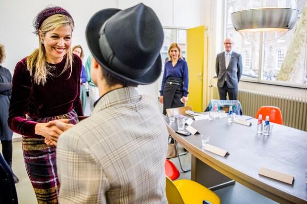 Koningin Máxima te gast op kunstopleiding Maastricht