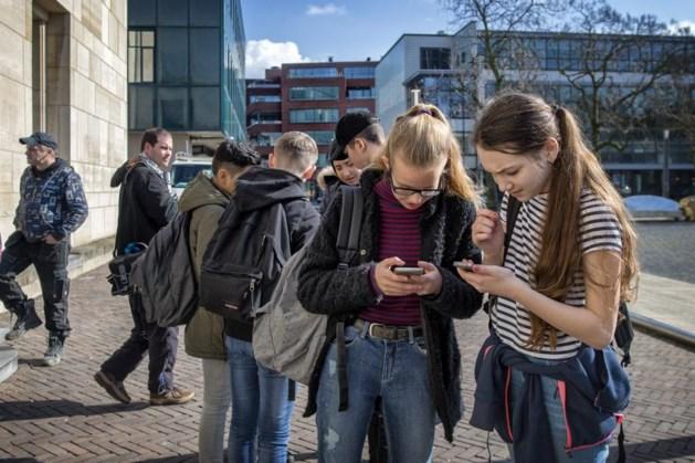 Leerlingen testen nieuwe game over Heerlen