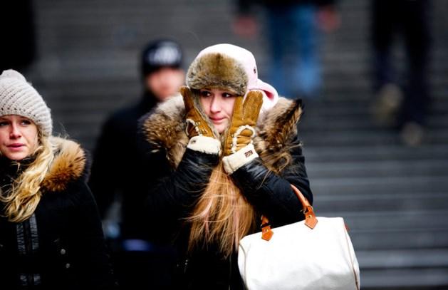 Brrr. Gevoelstemperatuur daalt in Limburg naar -15 graden