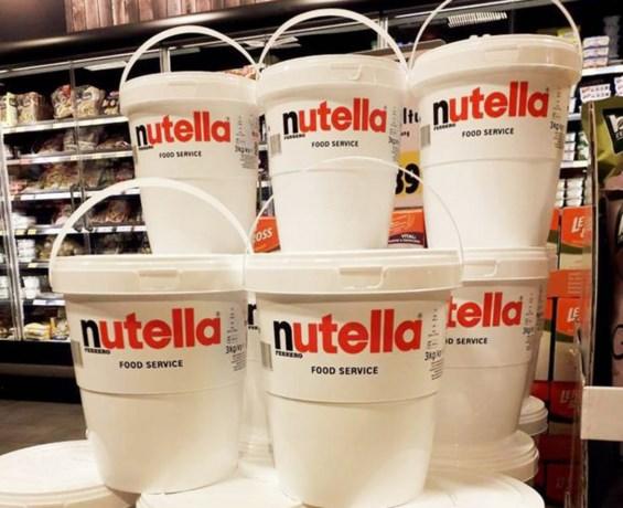 Gigapot Nutella? Wip even de grens over