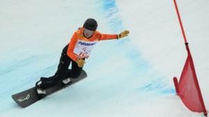 Snowboardster Mentel grijpt tweede goud op paralympics