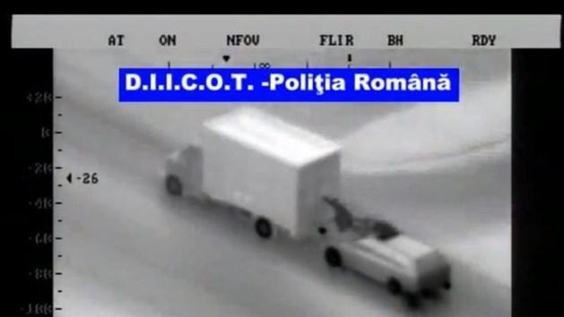 Celstraf voor Roemeense bende na roof op A73