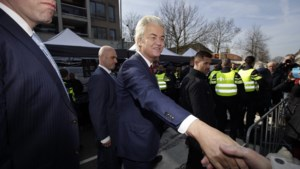 PVV-voorman Wilders op campagne in Limburg
