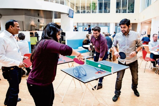 Bij steeds meer bedrijven kan het: sporten in de baas z'n tijd